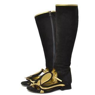 プラダ(PRADA)の■PRADA■size34 open toe long boots(ブーツ)