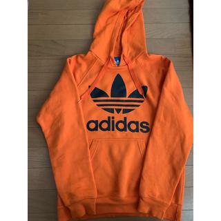 adidas - adidas パーカー オレンジ