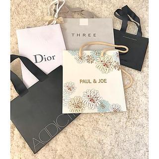 クリスチャンディオール(Christian Dior)のコスメブランド紙バッグ   詰め合わせ(ショップ袋)
