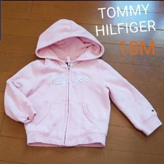 トミーヒルフィガー(TOMMY HILFIGER)のTOMMY HILFIGER パーカー 18M ピンク(ジャケット/上着)