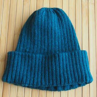 アールニューボールド(R.NEWBOLD)のニット帽 アールニューボールド グリーン(ニット帽/ビーニー)