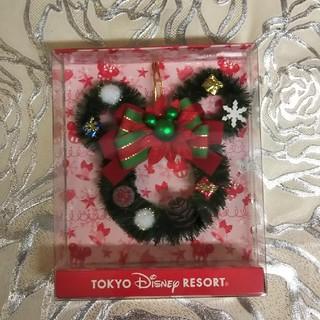 Disney - ディズニー🎄Xmas  ミッキー型ミニリース