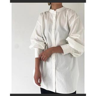 TODAYFUL - トゥデイフル  todayful 2WAYサテンカラーシャツ スタンドカラー