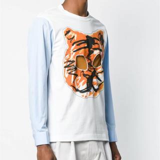 コムデギャルソン(COMME des GARCONS)のCOMME des GARCONS  シャツ 虎プリンティングシャツ(シャツ/ブラウス(長袖/七分))