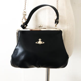 Vivienne Westwood - ☆極美品、定価35000円☆2way、がま口、ショルダー、ヴィヴィアン