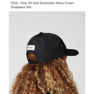 FEAR OF GOD - ESSENTIALS fear of god cap キャップ