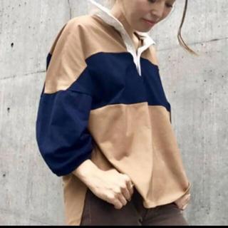 DEUXIEME CLASSE - Americana ラガーシャツ