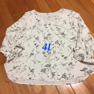 【大きいサイズ】4L ブラウス(シャツ/ブラウス(長袖/七分))