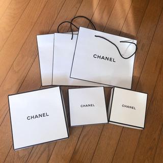 シャネル(CHANEL)のCHANEL シャネル 空箱 袋(ショップ袋)