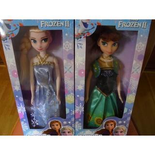 Disney - ディズニー 💛 アナ雪Ⅱ 2体・アナ雪Ⅱ2ウェイバッグ 1枚 セット 💛②