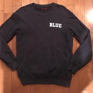 ブルーブルー(BLUE BLUE)のBLUEBLUE ブルーブルー スウェット  トレーナー サイズ2(スウェット)