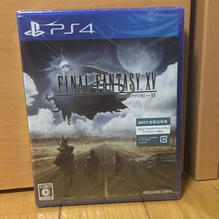 ファイナルファンタジーXV PS4 新品未開封(家庭用ゲームソフト)