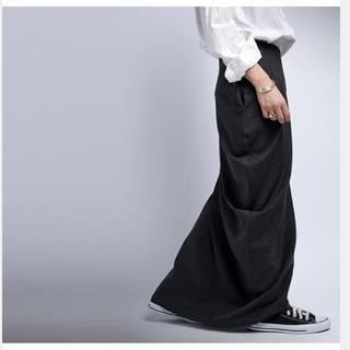 antiqua アンティカ 変形スカート ロングスカート