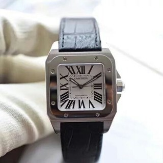 Cartier - カルティエ サントス 100LM W20076X8 自動巻 メンズ 腕時計
