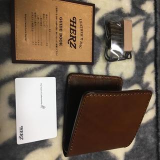 ヘルツ(HERZ)のヘルツ  二つ折り財布 チョコ(折り財布)