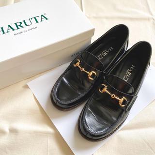ハルタ(HARUTA)のHARUTA ビット ローファー 23.5cm(ローファー/革靴)