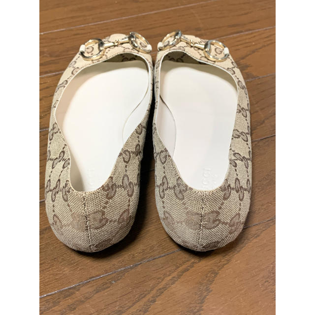 Gucci(グッチ)のGUCCI オープントゥ サンダル 37C レディースの靴/シューズ(サンダル)の商品写真