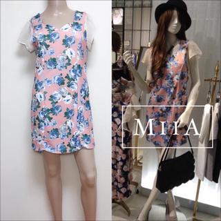 ミーア(MIIA)のMIIA デジタルローズ ワンピース♡ノエラ Delyle NOIR deicy(ミニワンピース)