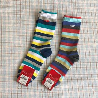 ニューバランス(New Balance)のNB ✴︎ ニューバランス 靴下2セット 22〜24cm(靴下/タイツ)