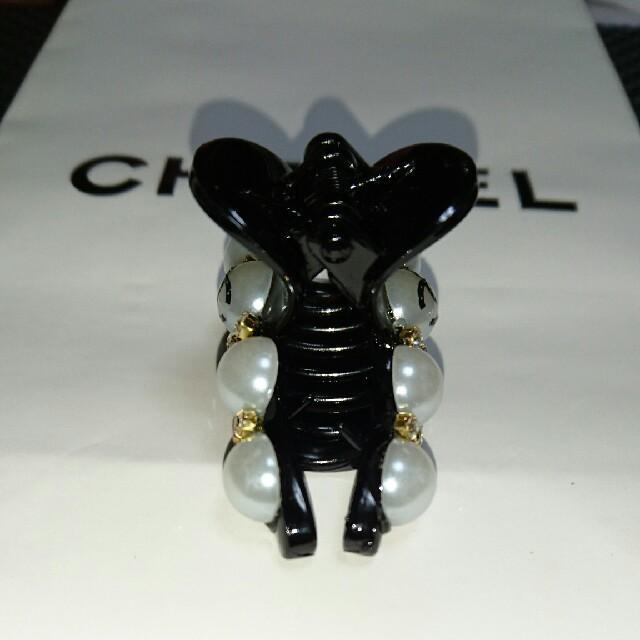CHANEL(シャネル)のヘアクリップ ハンドメイドのアクセサリー(ヘアアクセサリー)の商品写真