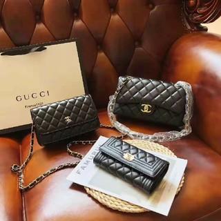 CHANEL - chanel 3点セット トートバッグ ショルダーバッグ 財布