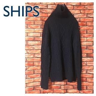 SHIPS シップス カラーズ ハイネック セーター