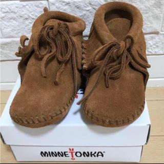 ミネトンカ(Minnetonka)の《新品》ミネトンカ フリンジブーツ 12(ブーツ)