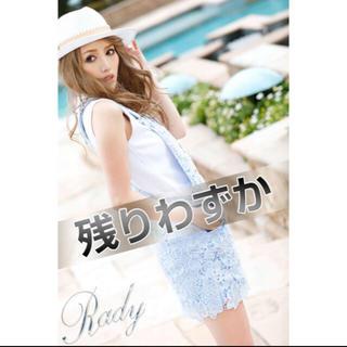 レディー(Rady)の❤️【送料込】Rady☆レースオーバーオールスカート(ミニスカート)