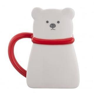 スターバックスコーヒー(Starbucks Coffee)のスターバックス:マグカップ 白熊 台湾 海外 クリスマス マグ(グラス/カップ)