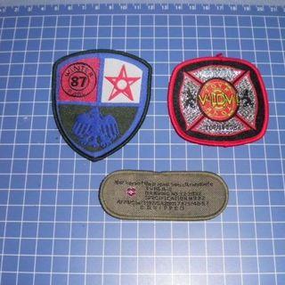 ワッペン 3枚セット(襟章)