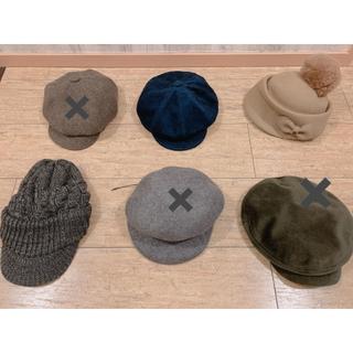 LOWRYS FARM - 冬もの帽子*キャスケット帽子*ベレー帽子*ハンチング帽子など