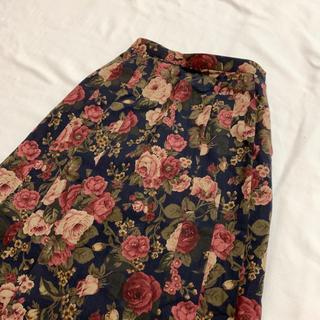 Grimoire - vintage 花柄 クラシカルレトロ スカート