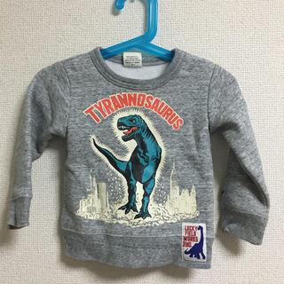 エフオーキッズ(F.O.KIDS)のFO Kids 裏起毛 スウェット 90cm 恐竜(Tシャツ/カットソー)
