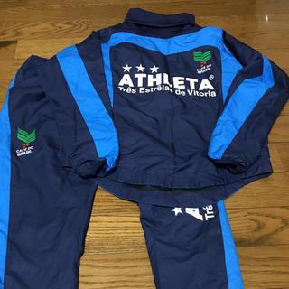 ATHLETA - 美品 アスレタ 上下セット 140,サッカー,フットサル:ナイキプーマアディダス