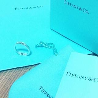 ティファニー(Tiffany & Co.)の☆新品☆未使用☆ティファニー ノーツナローリング9号(リング(指輪))