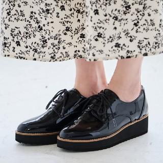 オリエンタルトラフィック(ORiental TRaffic)の【2019秋】厚底レースアップシューズ(ローファー/革靴)