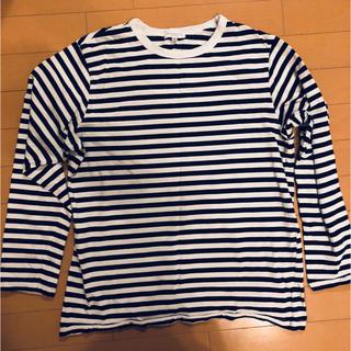 ユナイテッドアローズ(UNITED ARROWS)のユナイテッドアローズ ボーダーロングTシャツ(Tシャツ/カットソー(七分/長袖))
