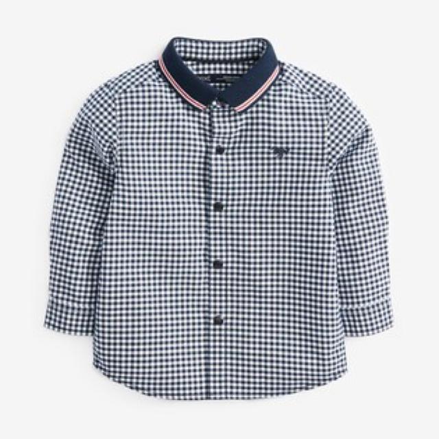 NEXT(ネクスト)の新品!ネクスト チェックシャツ キッズ/ベビー/マタニティのベビー服(~85cm)(シャツ/カットソー)の商品写真
