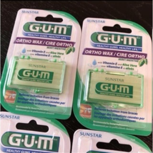 SUNSTAR(サンスター)の新品 矯正用 ワックス 米国製 歯列矯正 サンスター GUM 6セット ビタミン コスメ/美容のオーラルケア(口臭防止/エチケット用品)の商品写真