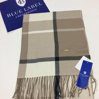 BURBERRY BLUE LABEL - ️  【新品】 ブルーレーベルクレストブリッジ ストール