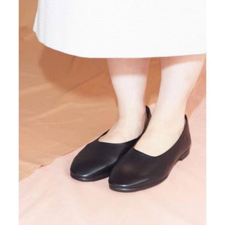 note et silence - caph 革靴 フラットシューズ