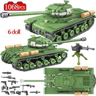 Lego - LEGO(互換品) IS-2M 戦車 ブロック おもちゃ