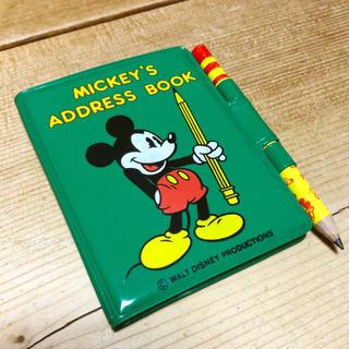 昭和 レトロ MICKEY'S ADDRESS BOOK ミッキー