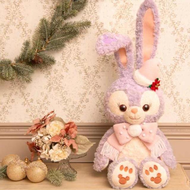 ダッフィー(ダッフィー)のぬいぐるみ ステラルー   クリスマス 2019 ウィンターホリデー ダッフィー エンタメ/ホビーのおもちゃ/ぬいぐるみ(ぬいぐるみ)の商品写真