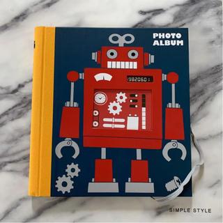 アクタス(ACTUS)のACTUS☆新品☆おしゃれなロボット表紙のアルバム(アルバム)