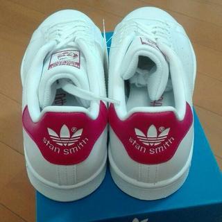 アディダス(adidas)の新品 未使用 アディダスオリジナルス スタンスミス  ピンク 24.5(スニーカー)