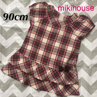 mikihouse - mikihouse ワンピース 90cm