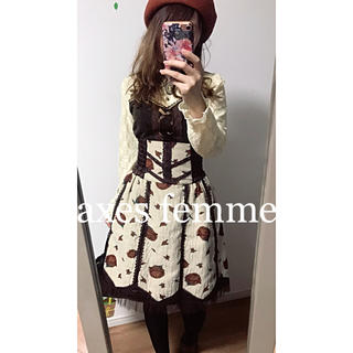axes femme - ☆axes femme☆ アクシーズファム コルセットスカート♡レトロ♡