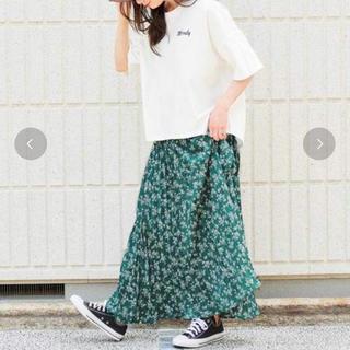 LOWRYS FARM - *Girly Doll*花柄 ロングプリーツスカート