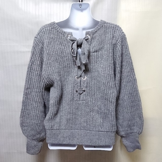 SLY - スライ 未使用タグ付き BACK LACE UP BALLOON MG TOPS